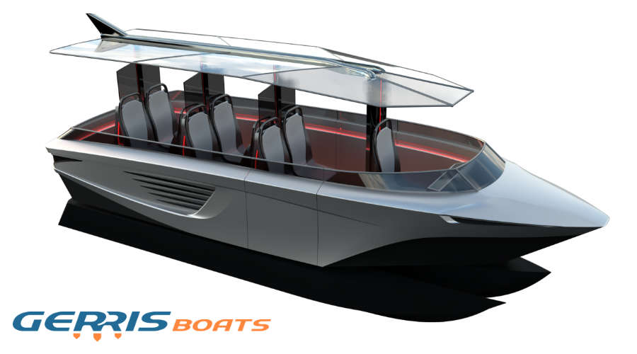 Gerris Boats – the innovative smart watertaxi